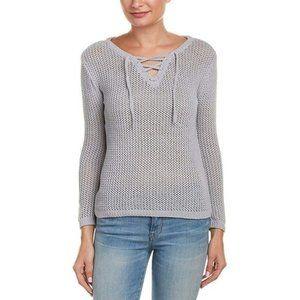BB Dakota Lily Lace-Up Sweater. Size XS